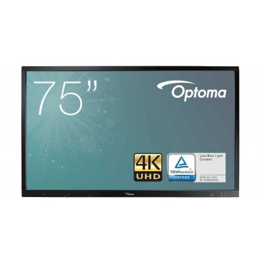 "Optoma OP751RKe 75"" 4K touch monitor"