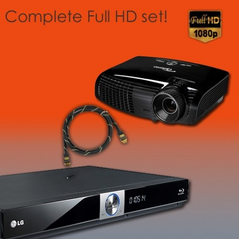 Optoma Full HD set