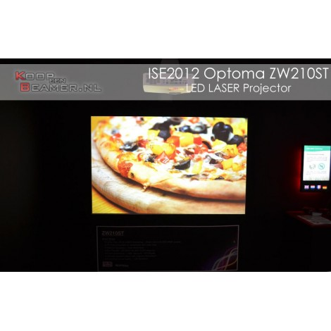 Optoma ZW210ST Laser projector