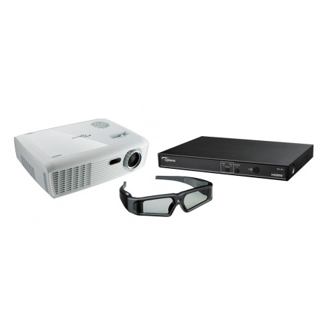 Optoma DH9-XL met gratis 3D-XL + ZD201 bril!