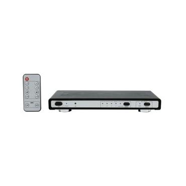 4-Voudige HDMI switch met audio en ethernet